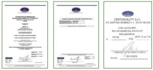 certificato EDP