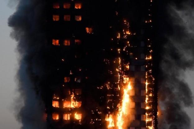 Londra-incendio